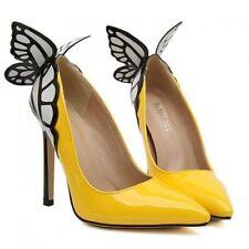 Women's Solid Slim Heels
