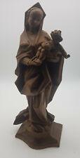 Schöne alte Madonna mit Kind - Holz geschnitzt - Ca. 40 cm