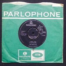"THE BEATLES I Feel Fine / She's A Woman PARLOPHONE UK Press 7"" 45 EX KTA RUNOUT"