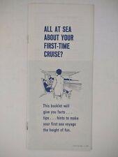 Eastern Steamship Lines 1980 Brochure Vintage CRUISE