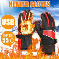 Men Electric Rechargeable Battery Heated Touchscreen Winter Hand Warm  !