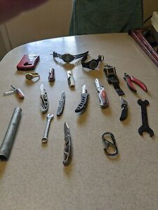Lot Of Knives And Miscellaneous