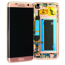 Original Samsung Galaxy S7 Edge G935F LCD Display Touchscreen Touch Pink Gold