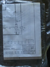 Wiring Diagram for Miele Dishwasher Models G670/672 and G870