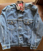 VTG Marlboro Country Store Men's Denim Jean Jacket - Size Medium