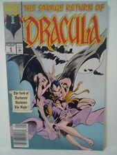 Marvel Comics The Savage Return Of Dracula #1 - Monster Cover
