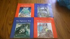 HORROR ILLUSTRATED BOOKS (4) VINTAGE, 1STS 1982, MONKEY'S PAW/SIGNALMAN, TROLL