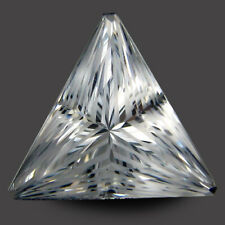 8.85Cts Excellent Natural Unheated White Topaz Trillion Magic Cut Collection VDO
