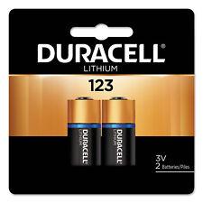Duracell Ultra High-Power Lithium Battery 123 3V 2/Pack DL123AB2BPK