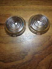 Dodge truck parking light lenses 1948 1949 1950 , one pair , parking light lens