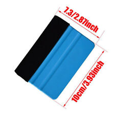 Car Van Bike Wrap Wrapping Squeegee Tool Scraper for 3m Pro Felt Edge Vinyl Blue