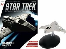 Star Trek The Official Starships Collection Bajoran Raider #G12 - Free p&p