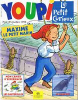 Revue YOUPI * 118 S *  le petit marin  dauphin magazine enfant documentaire