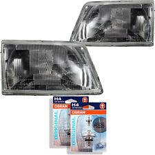 Headlight Set Peugeot 205 Year 83-96 H4 Incl. Osram Lamps