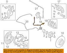 LAND ROVER OEM ABS Anti-lock Brakes-Rear Speed Sensor SSB500102