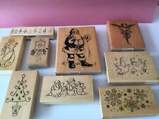 Card Making rubber stamps - Christmas