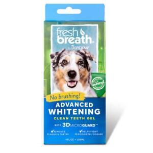 TropiClean Advanced Whitening Clean Teeth Gel 118ml - Dental Plauqe Tartar