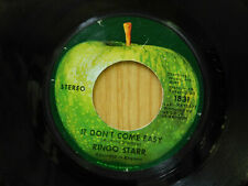 Ringo Starr rock 45 It Don't Come Easy bw Early 1970 Apple