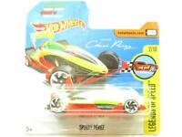 Hotwheels Speedy Perez Legends of Speed Yellow/Red Short Card 1 64 Scale Sealed