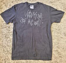VANS Off The Wall Logo T-Shirt, Grey, Size Large