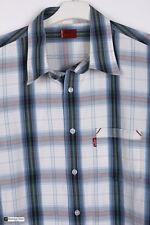 levi's Men Manga Larga Regular Fit Camisa Informal varios tamaños M CUADROS
