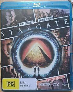 Stargate The Movie - Reg B Blu-Ray - Kurt Russell James Spader - Scanned Cover