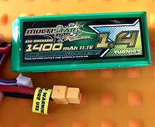 1x Multistar Racer 1400mAh 3S 65C -130C Lipo Pack für FPV Minis (Gold Spec)