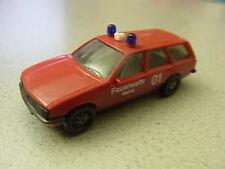 Herpa Opel Record Caravan Feuerwehr BFW Mainz aus Sammlung  (Pos. 23,18)