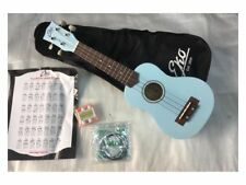 Eko Ukulele Soprano blu  + custodia +corde + accordatore + prontuario accordi
