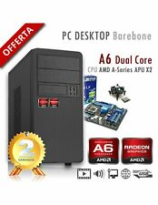 PC AMD APU A6 X2 9500 Dual Core/PC Assemblato Barebone Computer Desktop