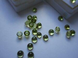 4mm Peridot Cabochons £1.30p each stone