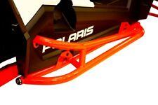 Polaris RZR XP Turbo RacePace Nerf Bars / Rock Sliders BLACK