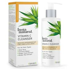 Facial Cleanser - Vitamin C Face Wash - Breakout & Blemish, Wrinkle Reducing