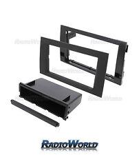 AUDI A4 B6 B7 simple o doble DIN STEREO Facia/Fascia Panel Adaptador