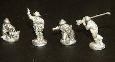 "SHQ BA1 1/76 Diecast WWII Australian Command inc 2"" Mortar & Boys ATR"