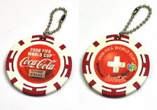 Coca-Cola Catena chiave dal Giappone Key Chain FIFA World Cup 2006 Svizzera