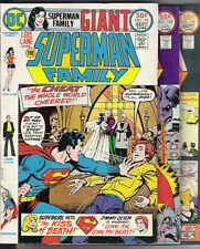 THE SUPERMAN FAMILY #172 174 178 GIANT ISSUES! SUPERGIRL! LEX LUTHOR!