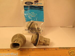 "ONE FORD 1987/1989 MERCURY TRACER SOCKET ""WIRE ASY"" HEADLAMP LEADS FREE SHIPPING"
