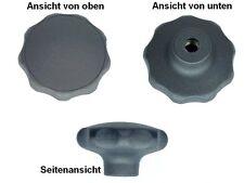 Stahlgewinde 50 Stück Sterngriffmutter DIN6336 K M8 Ø63 mm 1.86€//1Stk