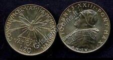 VATICANO Giovanni XXIII 20 Lire 1962 Concilio FDC -UNC