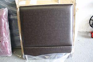 Hypnos Eden Strutted Headboard 75 cm SMALL SINGLE 2ft6 Sunbury Faux Leather