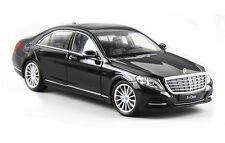 Welly 1:24 Mercedes Benz S class S500 Diecast Metal Model Car Black New