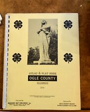 1974 Land Atlas and Plat Book, Ogle County, Illinois, Historic Maps