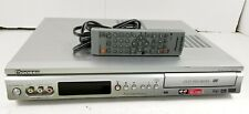 Pioneer DVR - 231 DVD Recorder Player With Remote Tested Working