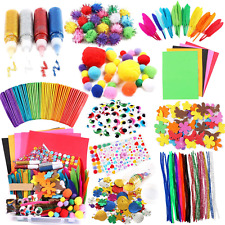 Arts And Crafts Supplies For Kids Craft Art Supply Kit For Toddlers Age 4 5 6 7