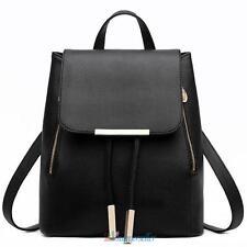 Fashion Girls Women Leather Satchel Backpack Travel Rucksack Shoulder School Bag