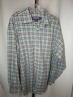 Vineyard Vines Men's Murray Shirt Button Down Multicolor Check Plaid Size XL