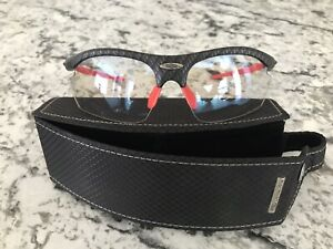 Rudy Project Athletic Glasses Shooting Golf Running Cycling Rydon Red/black EUC