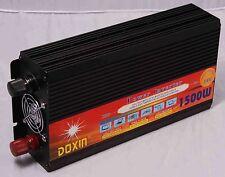 3000W Watts Peak Real 1500W Power Inverter Converter 12V DC to 110V AC,free ship