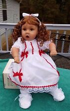"PAT SECRIST DOLL CO 1995 ""OH MY"" 20 TALL NEW RED HAIR BROWN EYES"
